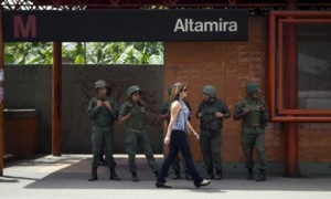 Demonstratios to support Venezuelan opposition leader Leopoldo Lopez
